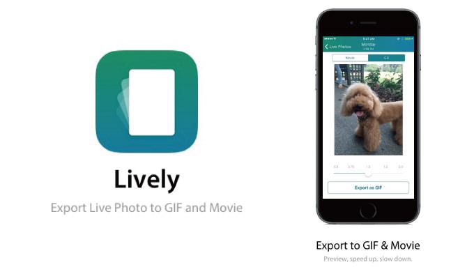 動画へも対応!iPhone 6sの「Live Photos」をGIFや動画に変換することができるアプリ「Lively」