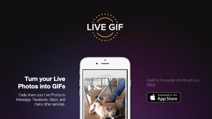 Iphoneapp live gif