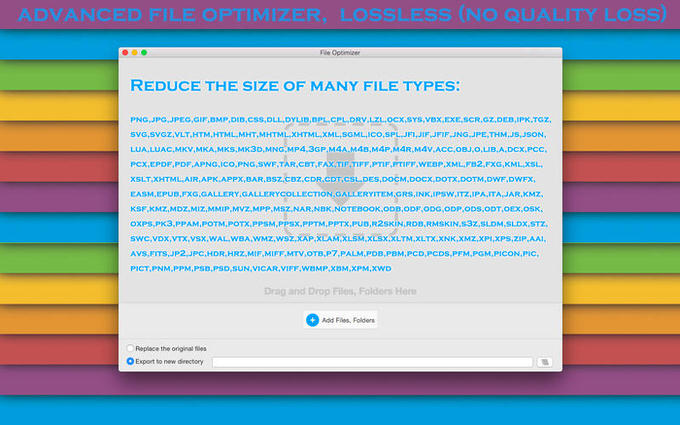 Macapp file optimizer 1