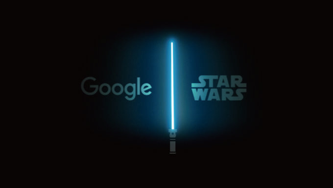 Google スターウォーズとコラボ!Gmailなど各アプリがダークサイドになる等、隠し要素を追加