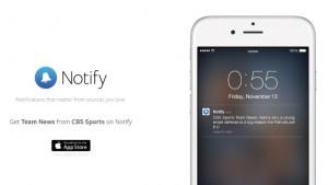 Facebookがニュースアプリ「Notify」を公開、最新ニュースをプッシュ通知