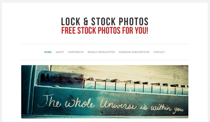 Lock Stock Photos