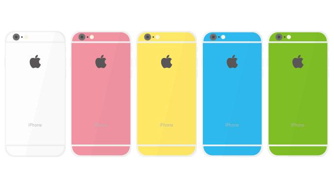 「iPhone 6c」来年2月に発表?カラバリは複数、筺体は金属製