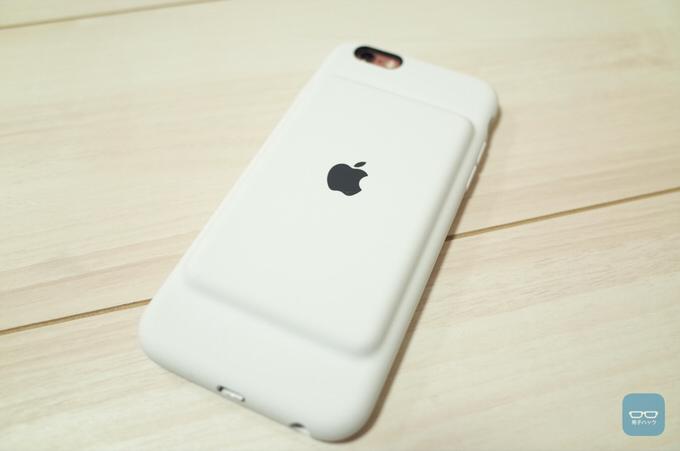 【レビュー】意外と良いぞ!純正iPhone 6s用バッテリー内蔵ケース「iPhone 6s Smart Battery Case」