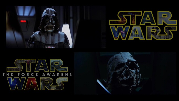 Starwars strikes bakc force awakens trailer