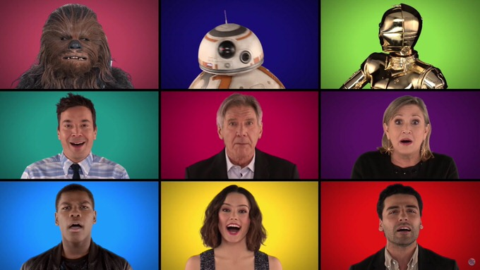 Starwars the force awakens a cappella