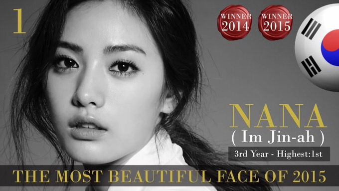The 100 most beautiful faces 2015 1