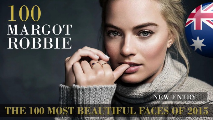 The 100 most beautiful faces 2015 100
