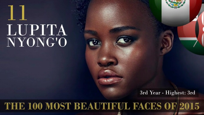 The 100 most beautiful faces 2015 11