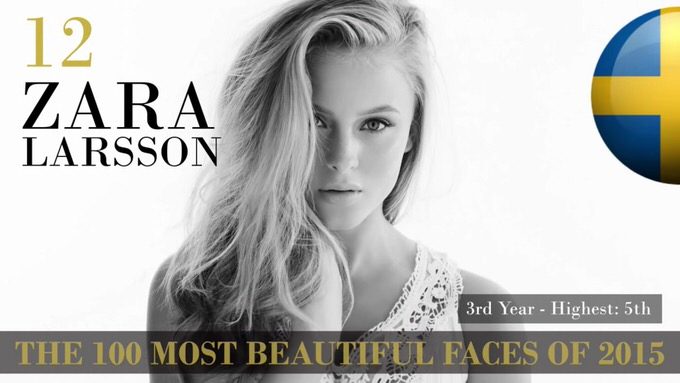 The 100 most beautiful faces 2015 12