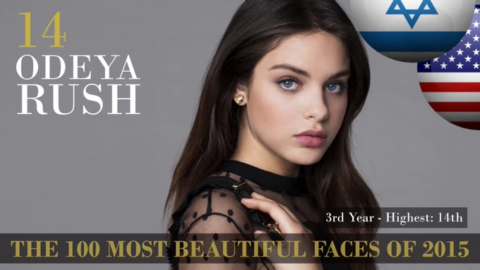 The 100 most beautiful faces 2015 14