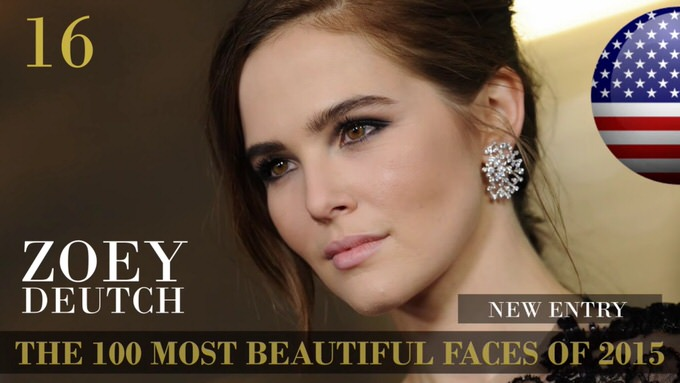 The 100 most beautiful faces 2015 16