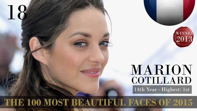 The 100 most beautiful faces 2015 18