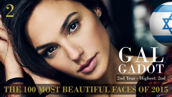 The 100 most beautiful faces 2015 2