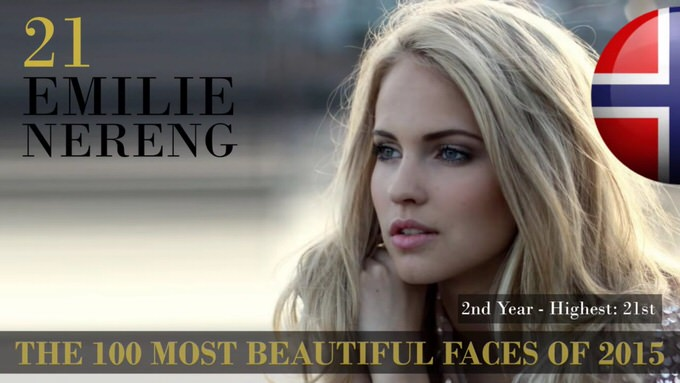 The 100 most beautiful faces 2015 21