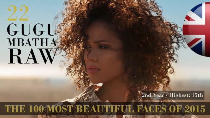 The 100 most beautiful faces 2015 22