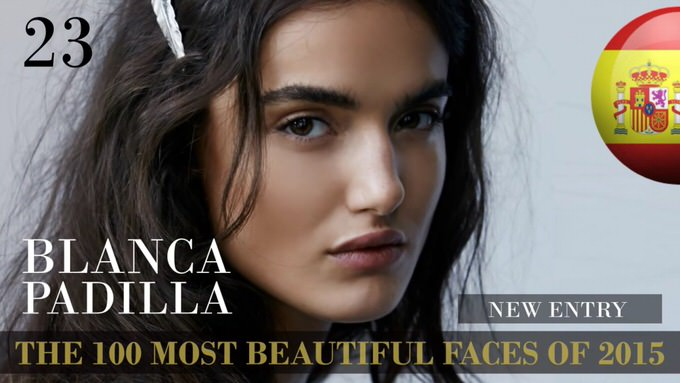 The 100 most beautiful faces 2015 23