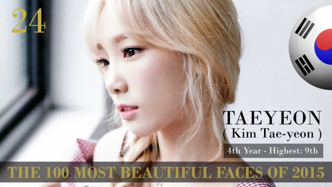 The 100 most beautiful faces 2015 24