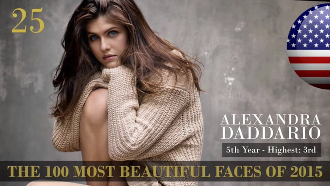 The 100 most beautiful faces 2015 25
