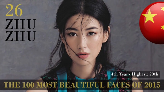 The 100 most beautiful faces 2015 26