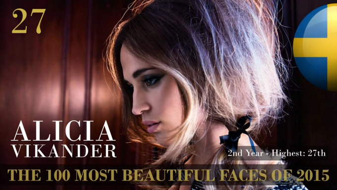 The 100 most beautiful faces 2015 27