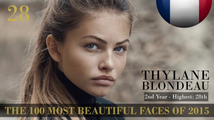 The 100 most beautiful faces 2015 28