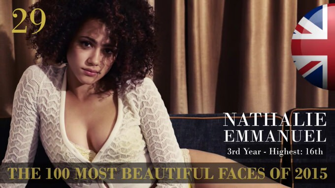 The 100 most beautiful faces 2015 29