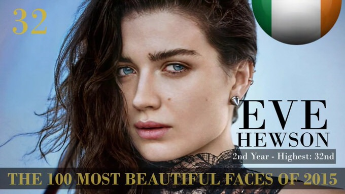 The 100 most beautiful faces 2015 32