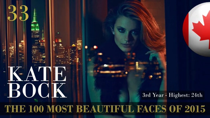The 100 most beautiful faces 2015 33