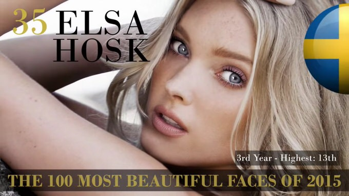 The 100 most beautiful faces 2015 35