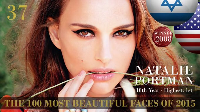 The 100 most beautiful faces 2015 37