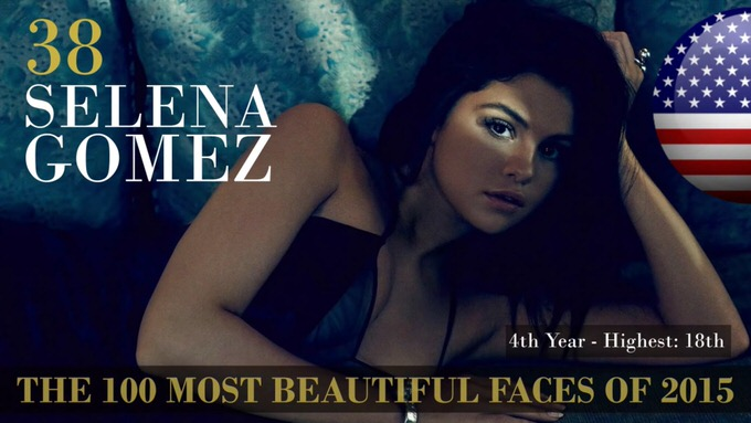 The 100 most beautiful faces 2015 38
