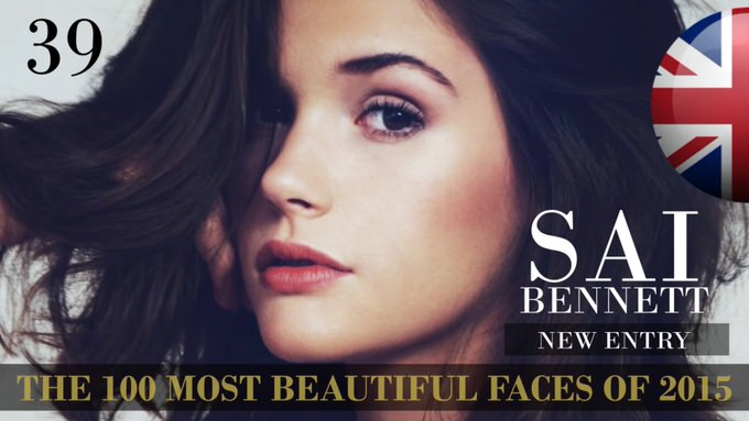 The 100 most beautiful faces 2015 39