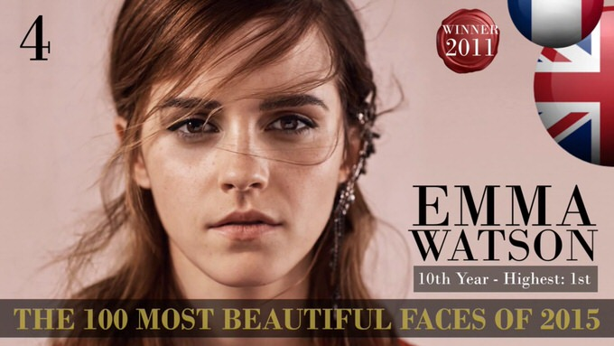 The 100 most beautiful faces 2015 4