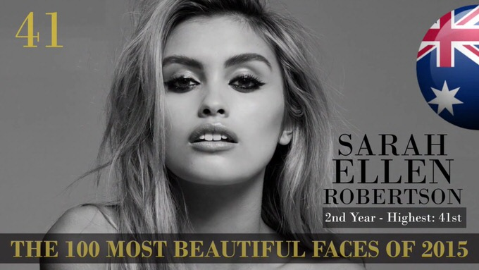 The 100 most beautiful faces 2015 41