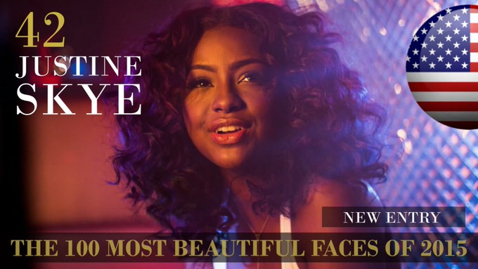 The 100 most beautiful faces 2015 42