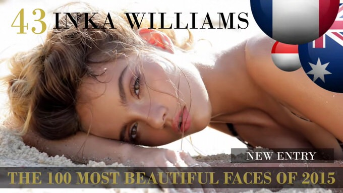 The 100 most beautiful faces 2015 43