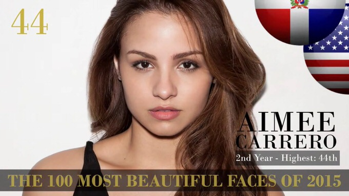 The 100 most beautiful faces 2015 44