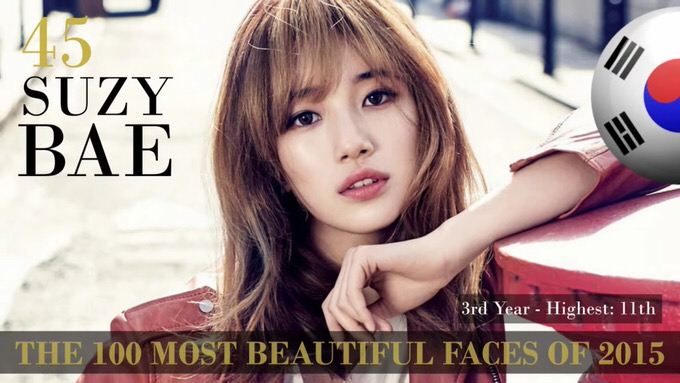 The 100 most beautiful faces 2015 45
