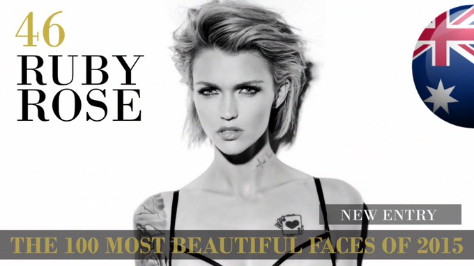 The 100 most beautiful faces 2015 46