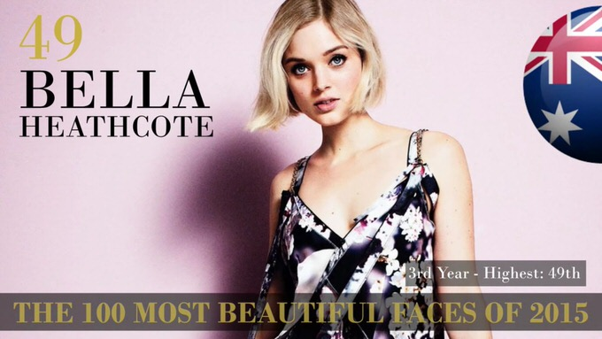 The 100 most beautiful faces 2015 49