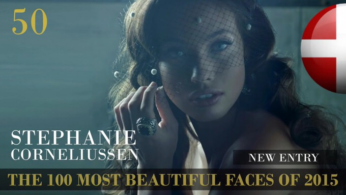 The 100 most beautiful faces 2015 50