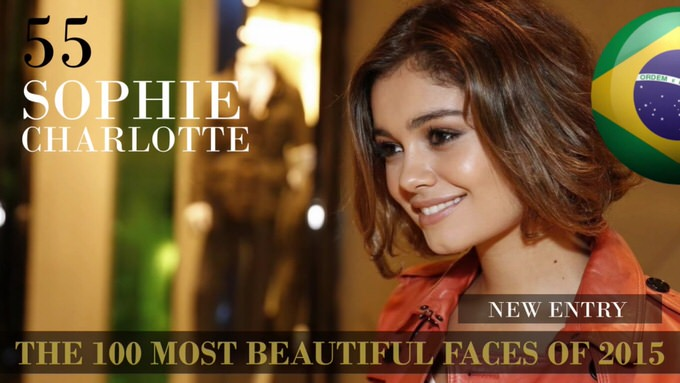 The 100 most beautiful faces 2015 55