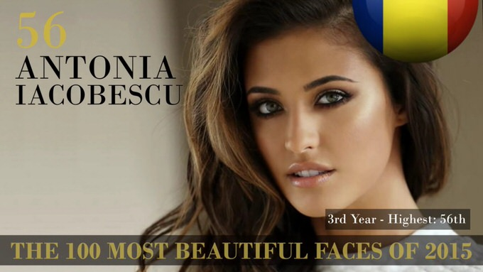 The 100 most beautiful faces 2015 56