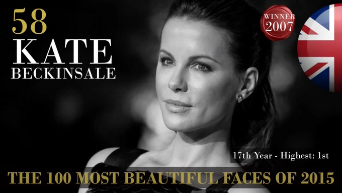 The 100 most beautiful faces 2015 58