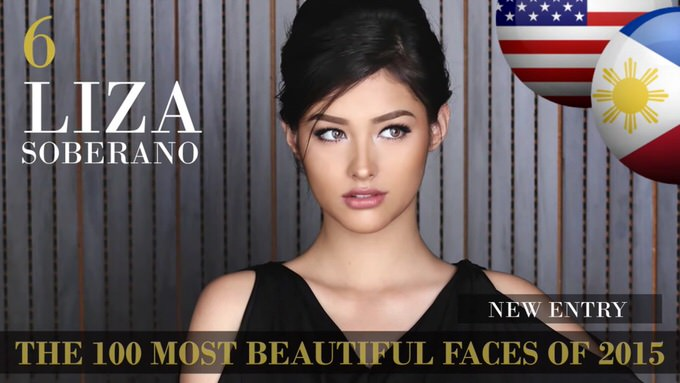 The 100 most beautiful faces 2015 6