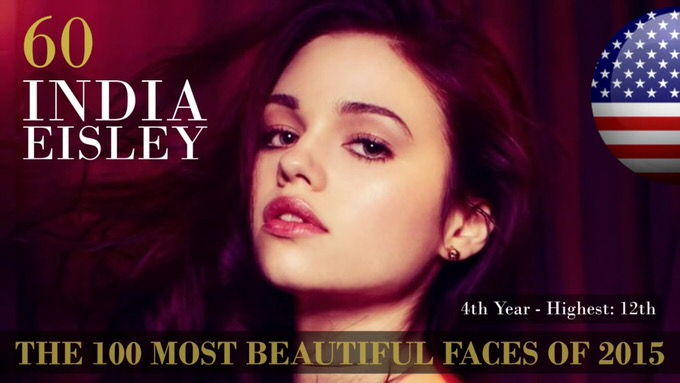 The 100 most beautiful faces 2015 60