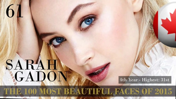 The 100 most beautiful faces 2015 61
