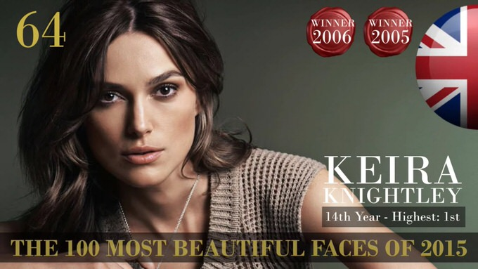 The 100 most beautiful faces 2015 64