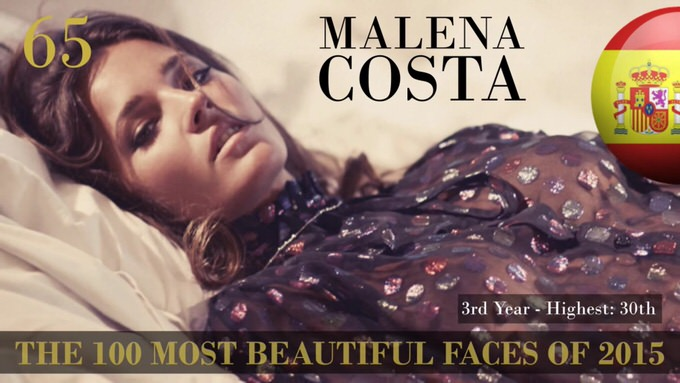 The 100 most beautiful faces 2015 65